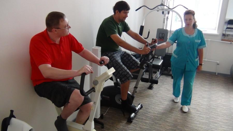 Терапия на велотренажерах